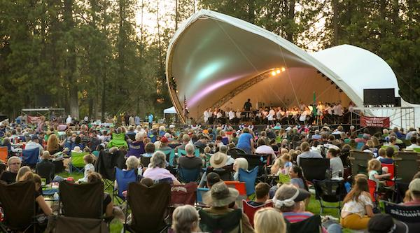The Spokane Symphony performs in Comstock Park