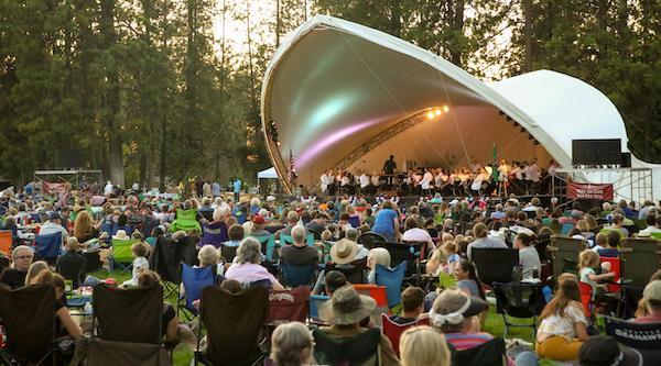 The Spokane Symphony performs in Comstock Park